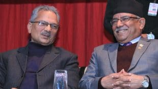 prachanda and baburam