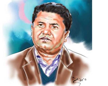 Late Rabindra Adhikari