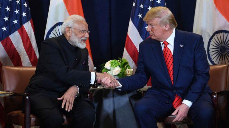Modi Trump us india