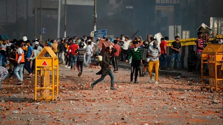 New Delhi unrest