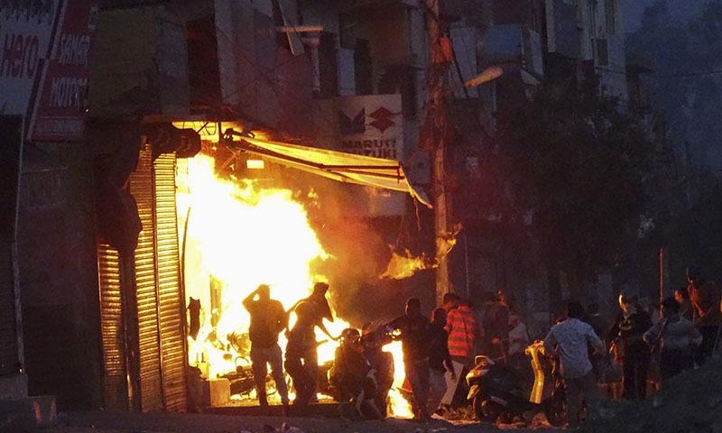 delhi unrest 2